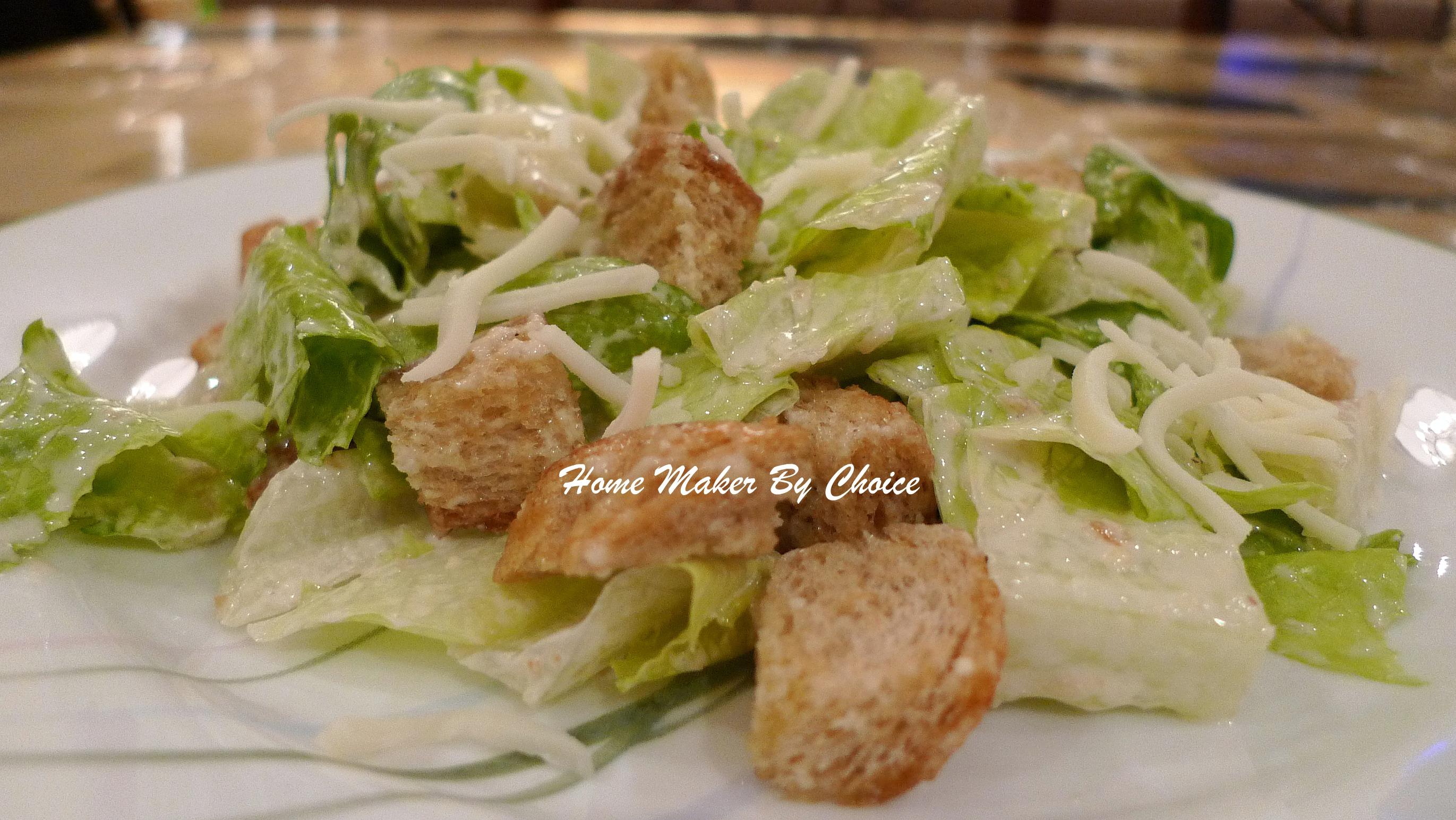 Caesar Salad | Home Maker By Choice