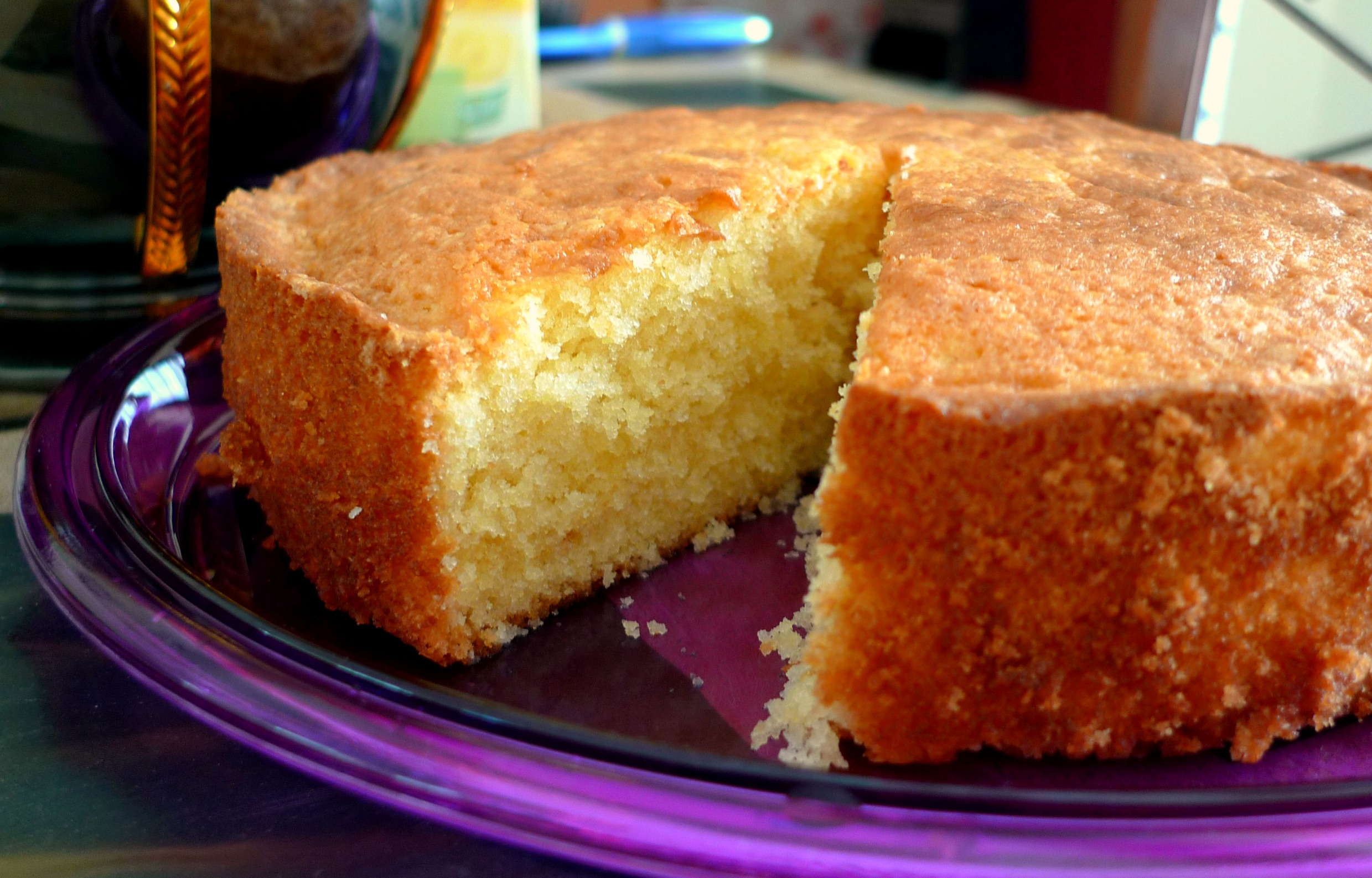 Pound Cake Without Butter