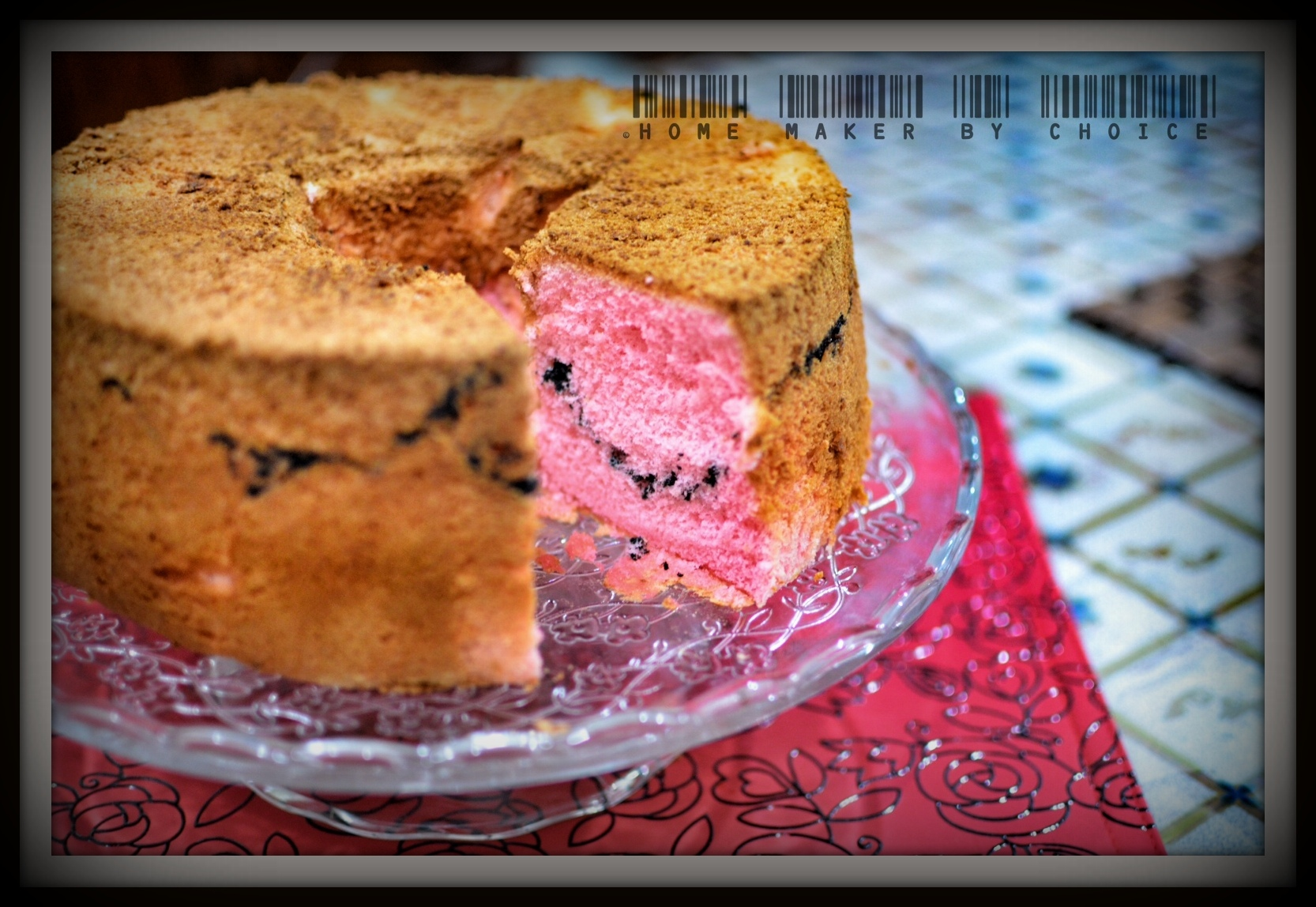 Strawberry Chiffon Buttercream Cake Recipe — Dishmaps
