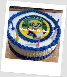 Agent Oso Birthday Cake