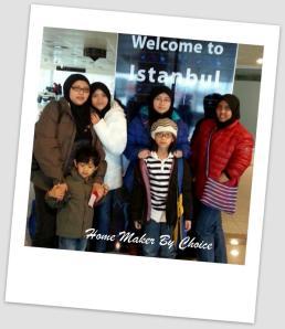 At the Istanbul Ataturk Airport