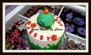Ombre Birthday Cake for Jessy