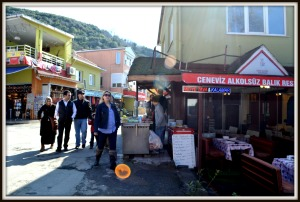 Shop where we bought fish kebab