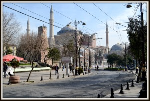 Hagia Sofia from a distance