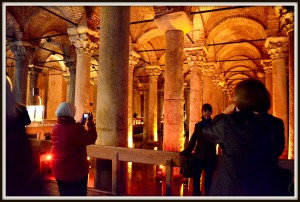 Inside the Basilica Cistern