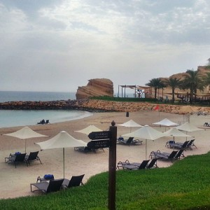 Shangri-la Muscat... who can resist this beautiful scenery