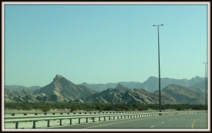 Amazing scenery from Muscat to Bimmah sinkhole