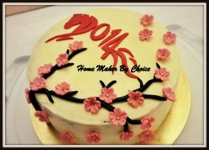 2014 Chinese New Year cake for the CNY celebration at the Malaysian House Muscat