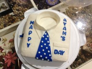 2013 Father's day cake