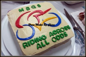 My other half's bike party cake