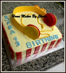 Sofea 13th birthday cake