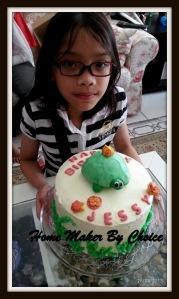 Jessy's last year birthday cake...
