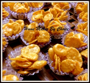 Honey cornflakes