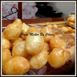 Crunchy Sweet Dumpling