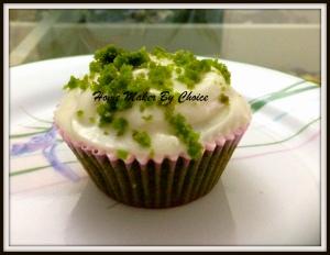 My Green Velvet cupcakes
